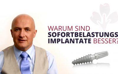 Warum sind Sofortbelastungs-Implantate besser?