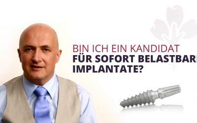 Bin ich ein Kandidat für die Behandlung mit Sofortimplantaten?
